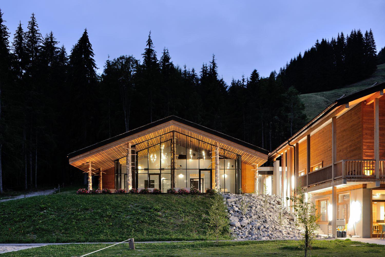pateyarchitectes - auberge nordique - le grand bornand - haute savoie